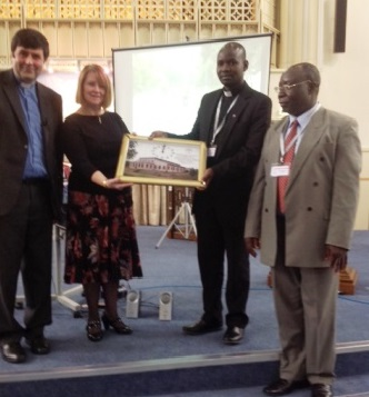 photo of presentation from Malawi